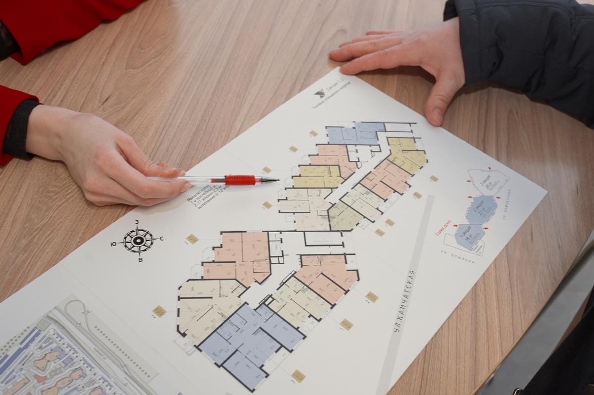 Специалисты расскажут все подробности о каждой квартире, которая может подойти клиенту