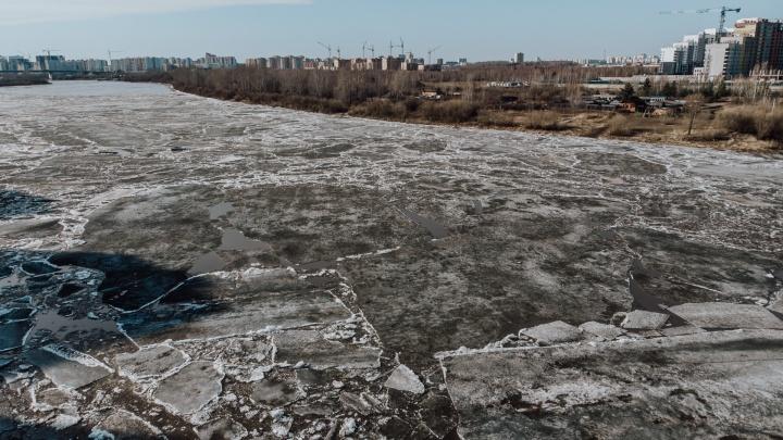 Хруст слышно с берегов: на Туре начался ледоход