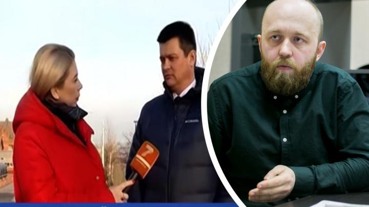 «Прошу не называть себя журналистом!»: Шпехт разнес репортаж 7-го канала про экологию Красноярска