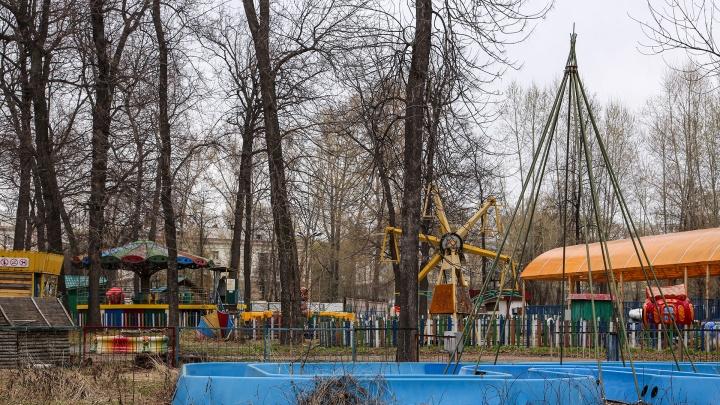 Кладбище живых аттракционов: как в Уфе умирает парк с каруселями