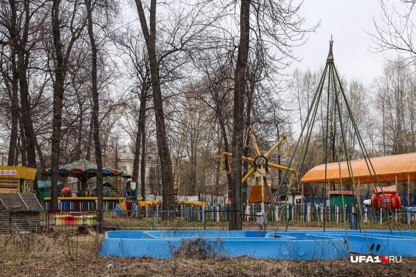 Парк напоминает не место для веселья, а кадр из фильма ужасов