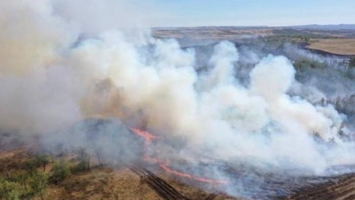 Горят поля и леса: огненные кадры из эпицентра природных пожаров в Башкирии