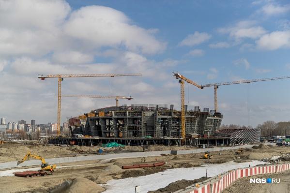 """Строительство, которое оценили почти <nobr class=""""_"""">в 12 миллиардов</nobr>, продолжается"""
