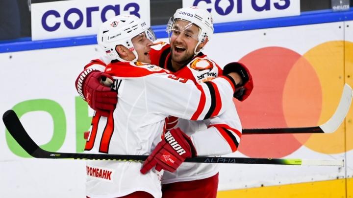 Первая победа сезона: «Автомобилист» выиграл матч у СКА
