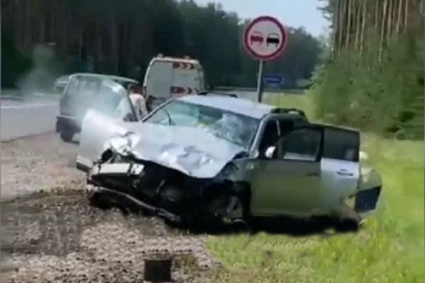 Скрин видео очевидцев с места происшествия