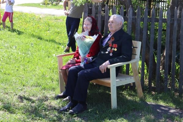 Николай Шмаков ушел на фронт в 16 лет. Мужчина родился в Упоровском районе, жил с супругой в Заводоуковске