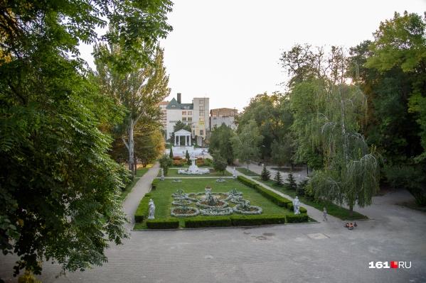 В Ростове сейчас более десяти парков