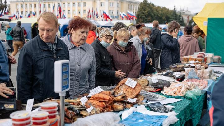 Сельхозярмарка в Кемерове: что там продавали и как это было