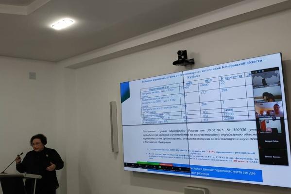 В Кемерово прошло заседание Экологического совета при губернаторе Кузбасса