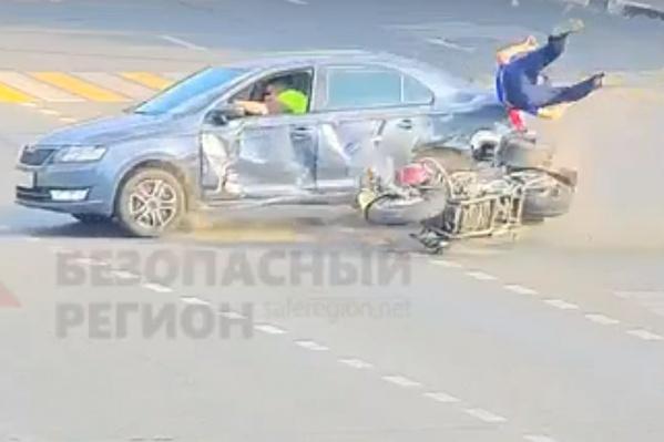 К счастью, авария обошлась без жертв