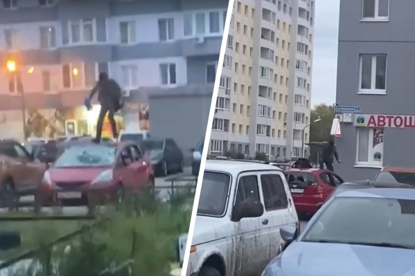 Инцидент на парковке произошел вчера