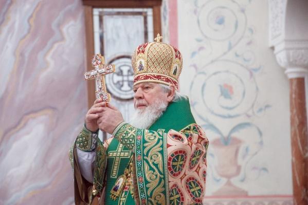 В апреле митрополит отметил свое 70-летие