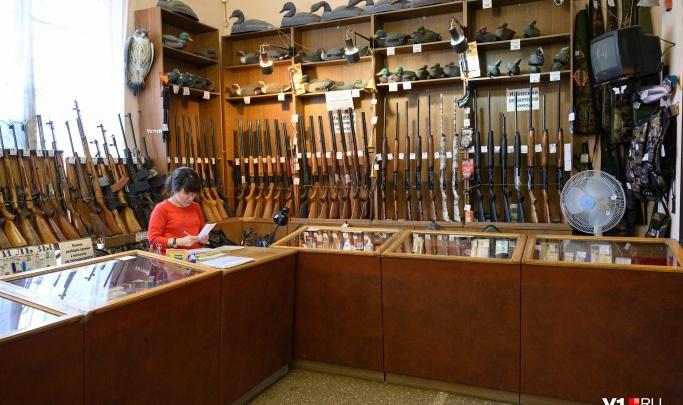 Оружейные магазины Волгограда проигнорируют митинги оппозиции