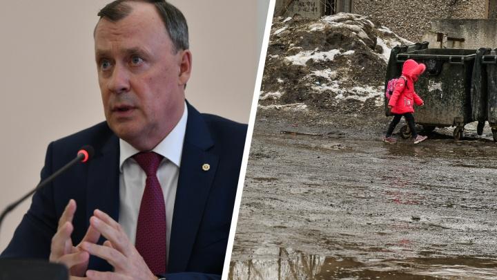«Мы должны следить за городом»: Алексей Орлов ответил, почему так грязно в Екатеринбурге