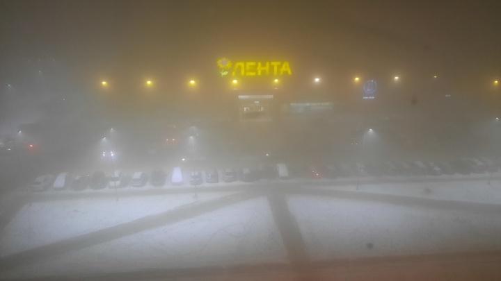 В Красноярске до вечера среды объявили режим «черного неба»