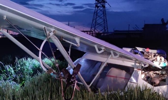 Жестко севший самолет летел на Кубань и, падая, обесточил район Ростовской области
