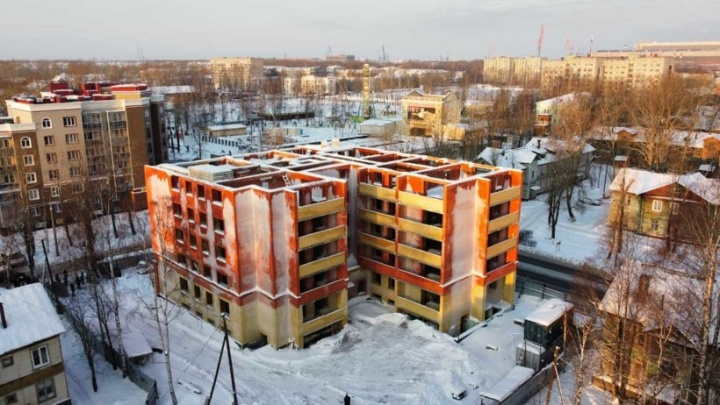 Долгострой в Северодвинске, на который выделили 90 миллионов рублей, оказался на грани сноса