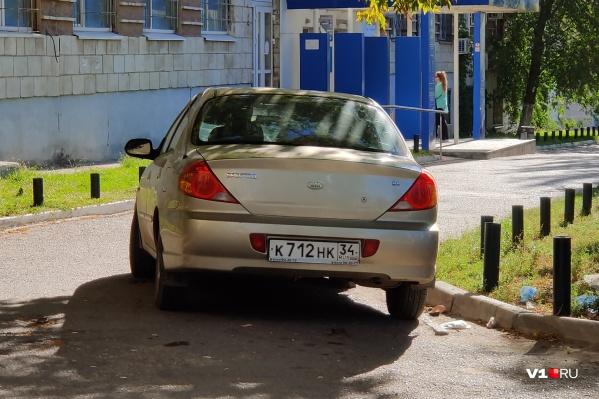 Моя машина, где хочу, там и ставлю