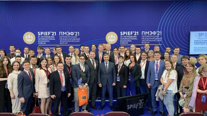 Молодой ученый Университета Решетнёва задала вопрос министру науки и высшего образования РФ