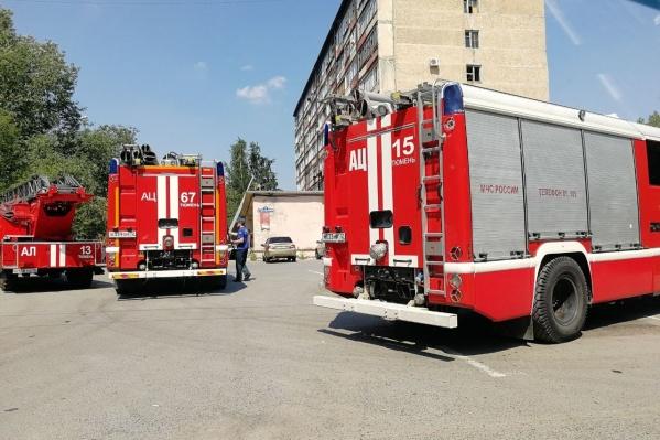Пожар начался из-за занесения открытого источника огня