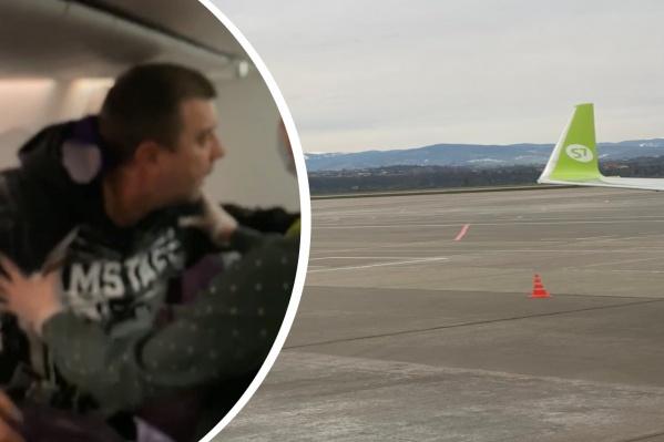 Дебошир мешал пассажирам на рейсе Сочи — Новосибирск