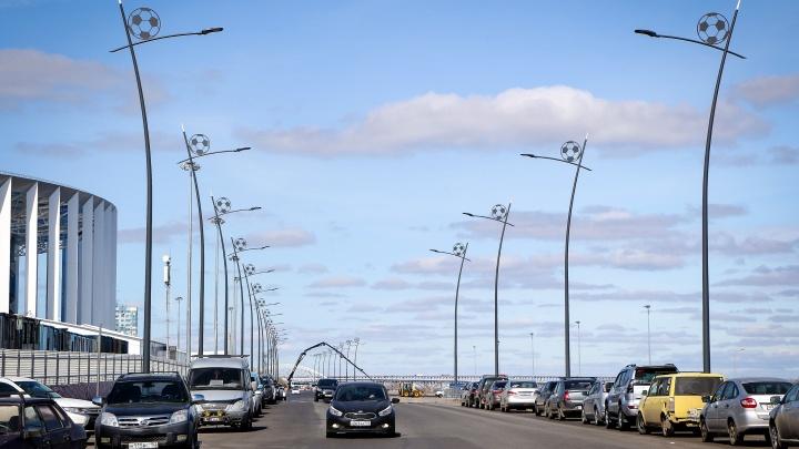 В центре Нижнего Новгорода ограничат движение из-за «Лиги Триатлона». Смотрим карту перекрытий