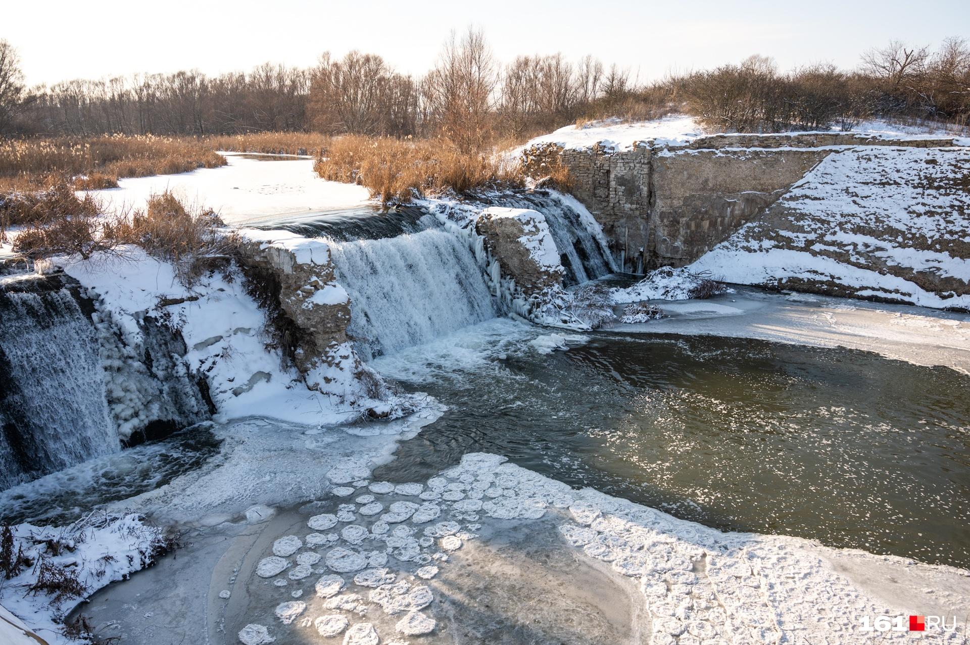 Плотина на реке Кундрючья