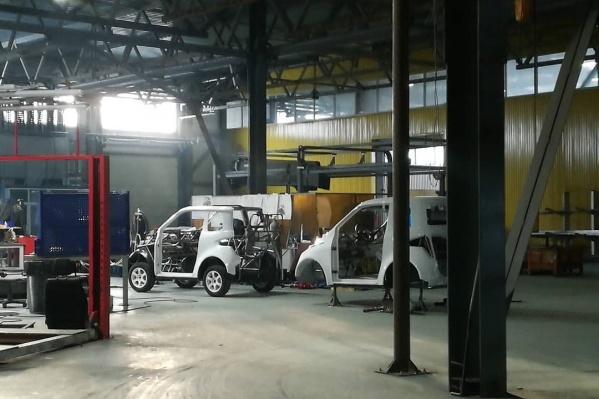 Производство миниатюрных электрокаров Zetta планируется в Самарской области