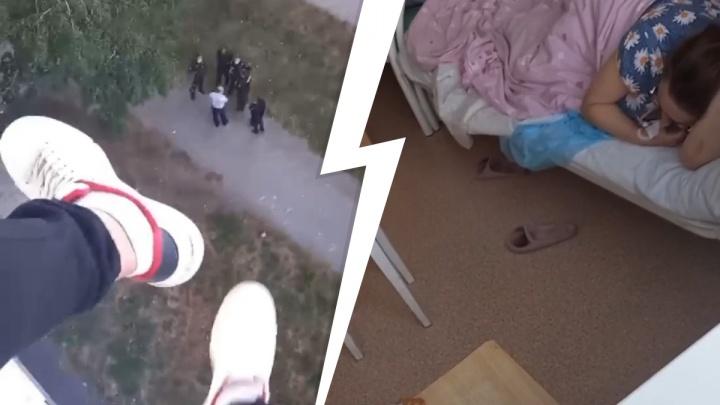 «У меня убили ребенка»: мужчина, угрожавший медикам в ЦГКБ № 1, выложил видео из палаты
