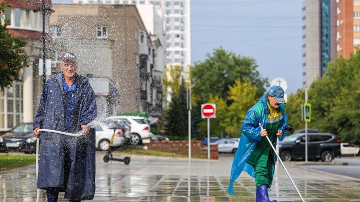 После дождичка в четверг: показываем, как освежилась Уфа после долгожданного ливня