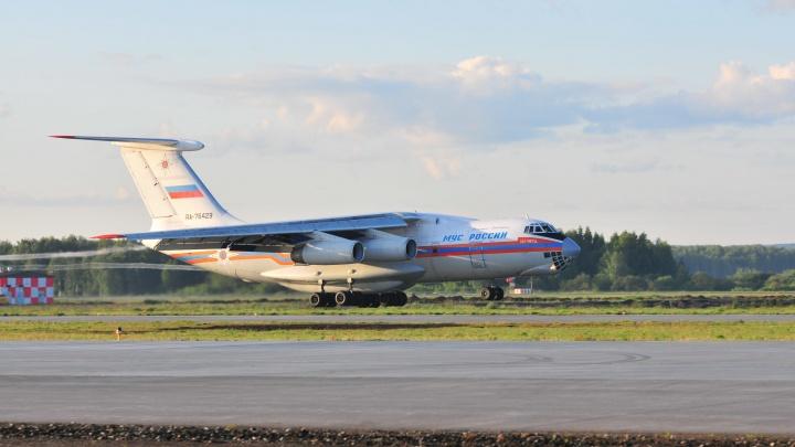 Свердловских пожарных на самолете перебросят в соседний регион, где бушуют лесные пожары