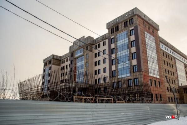 Здание УМВД так и не достроили