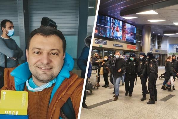 На глазах депутата задержали помощника Навального
