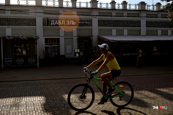 «Дабл Эль» расположен в самом центре Челябинска