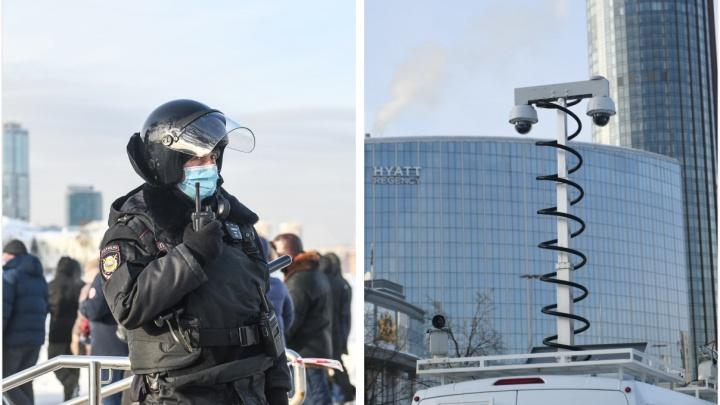 «Зальют фото и найдут нарушителей». Что будет с теми, кто попал в объективы камер на митинге в Екатеринбурге