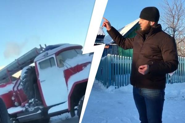 Андрей Халилов хочет ускорить решение проблем в деревне, в которой вырос