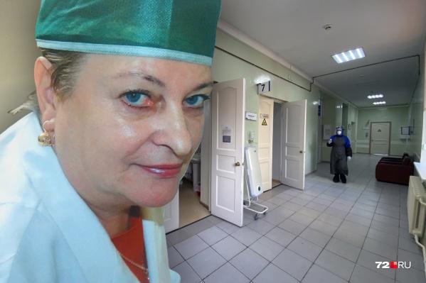 """Маргарита Кузьмина проработала в медицине почти 50 лет. Она сначала работала в поликлинике <nobr class=""""_"""">№ 10</nobr>, а после ее реорганизации — в поликлинике <nobr class=""""_"""">№ 5</nobr>"""