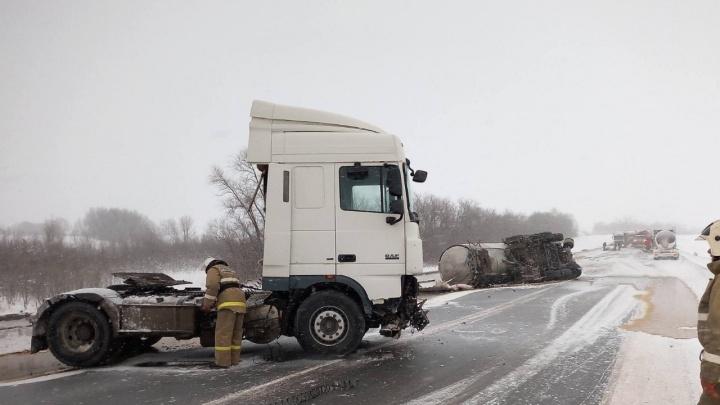 Стала известна причина смертельного ДТП с большегрузами в Самарской области