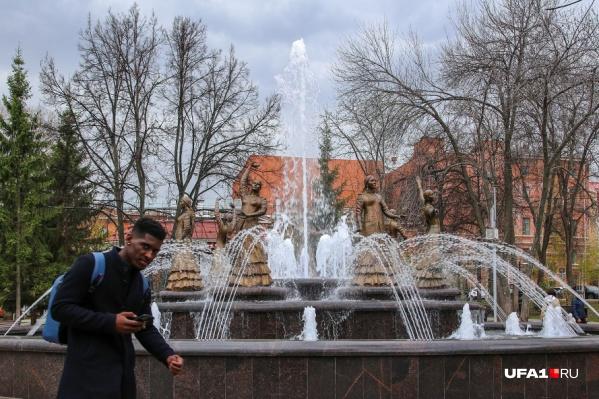 В конце апреля фонтаны открывались в тестовом режиме