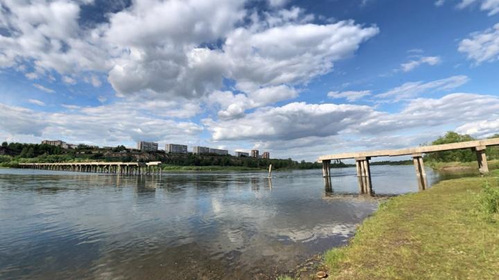 В Красноярске ищут финансирование на строительство моста в Зеленой Роще на Татышев