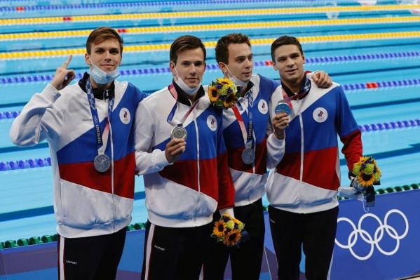 Российские пловцы завоевали серебро на Олимпиаде в Токио
