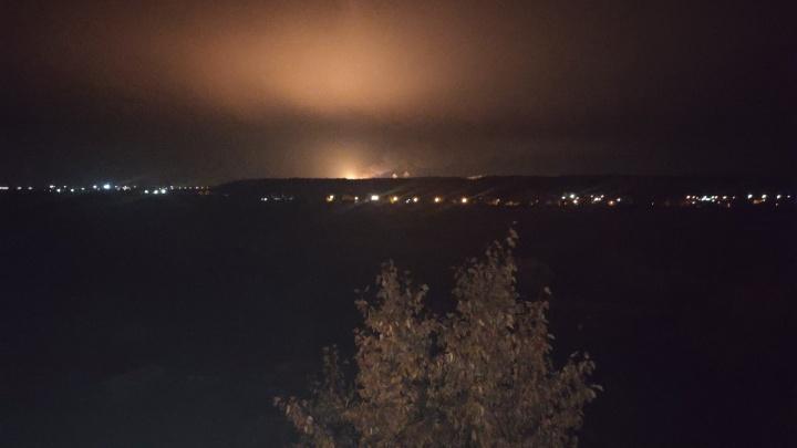 СИБУР объяснил сильное зарево над заводом в Тобольске погодными явлениями