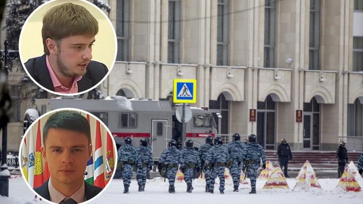 «Мы в автозаке»: полиция задержала двух депутатов из Ярославской области нафоруме в Москве