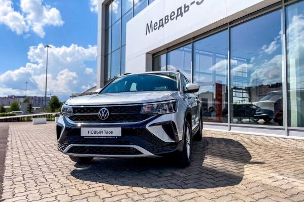 Volkswagen Taos доступен в Красноярске в трех комплектациях