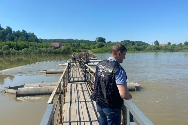 Девочка погибла на реке Кондома