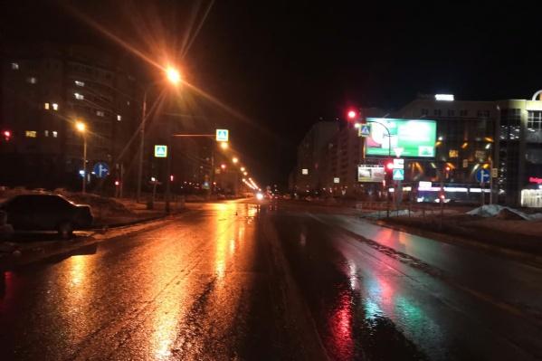 Пострадавшие переходили дорогу на зеленый сигнал светофора