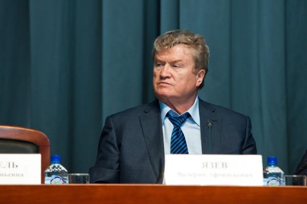Долг будут гасить в том числе и за счет депутатской пенсии Валерия Язева