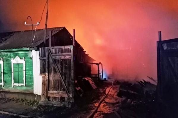 Предварительная причина пожара — нарушение правил монтажа электрооборудования