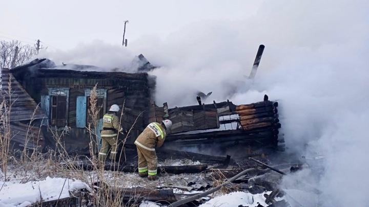 В Курганской области за два дня при пожарах погибли пять человек