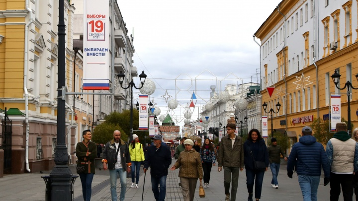 Нижний Новгород голосующий: фоторепортаж с избирательных участков